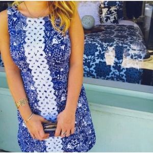 Lilly Pulitzer for Target Blue Shift dress